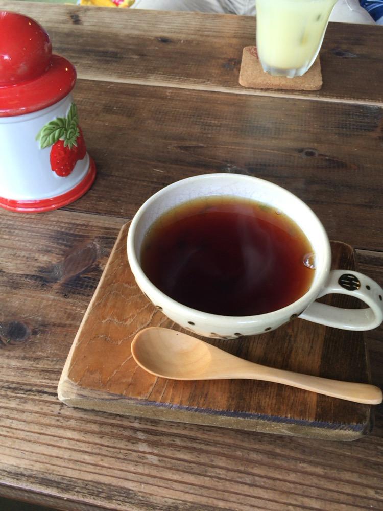 カフェ スバコの紅茶