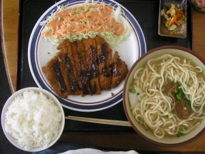 みはま食堂 沖縄そば定食