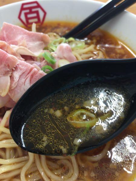 中華そば 旨辛のスープ