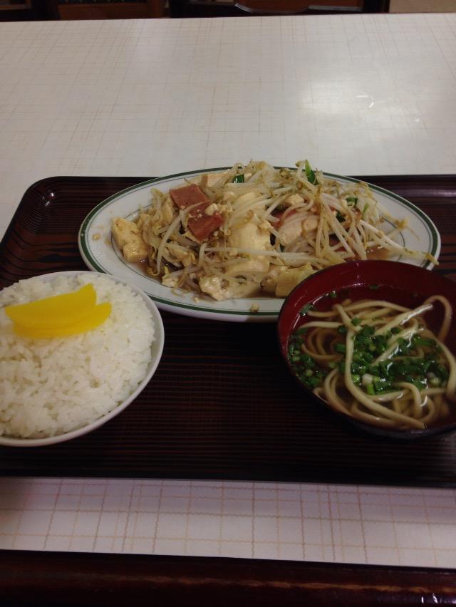 お食事の店 でいごの豆腐チャンプルー