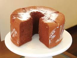 ゴヤケーキのシフォンケーキ